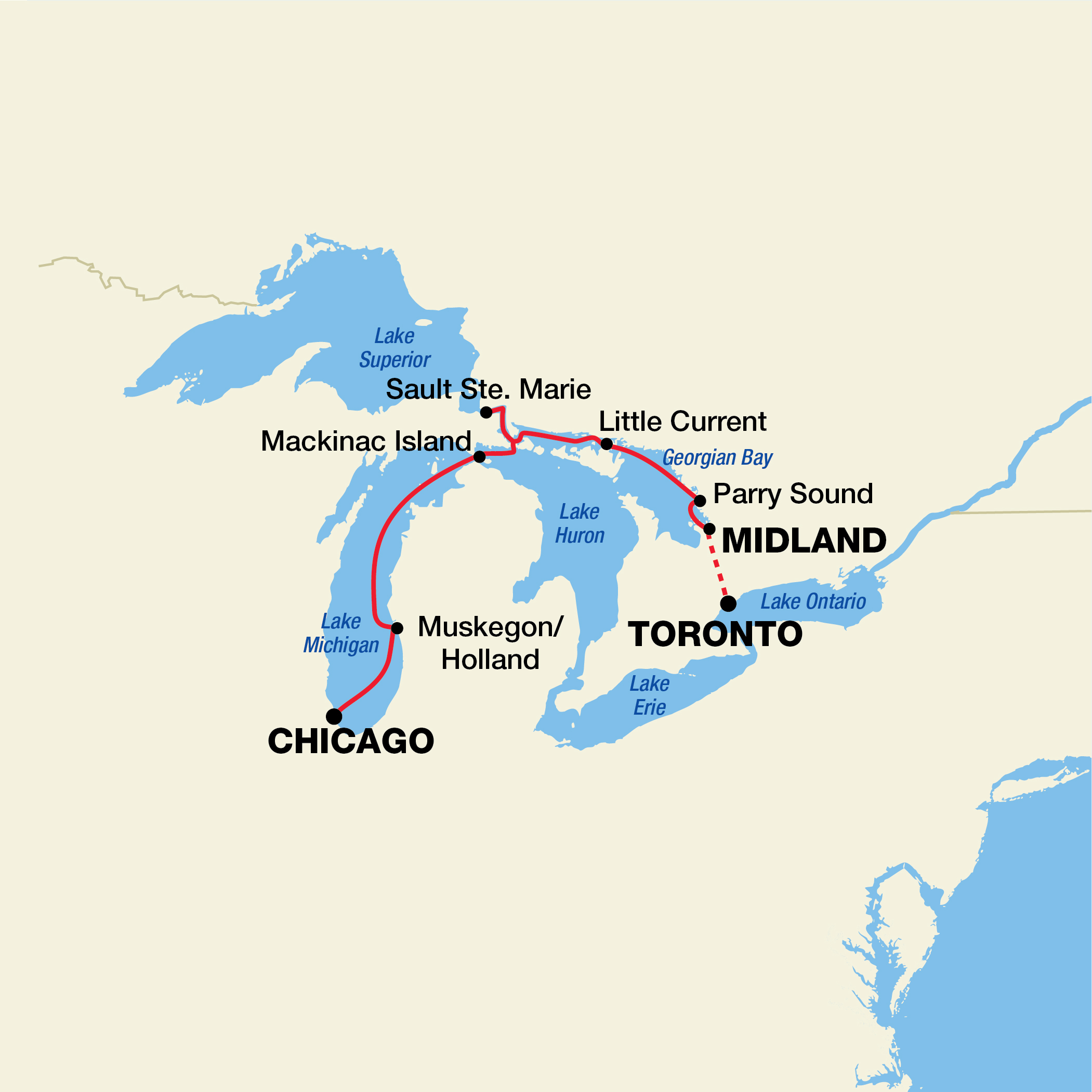 Great Lakes Cruise Pearl Seas Defining Luxury Adventure