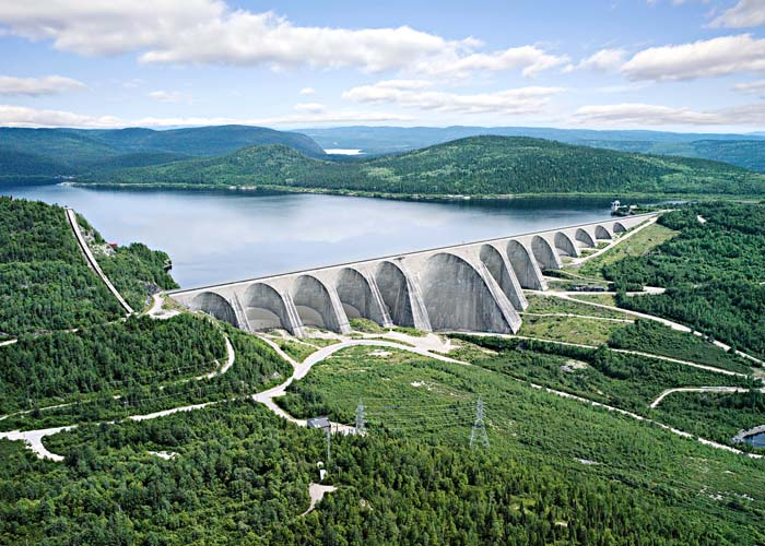 Baie-Comeau Manic Dam